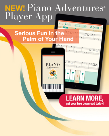 Piano Adventures Player App